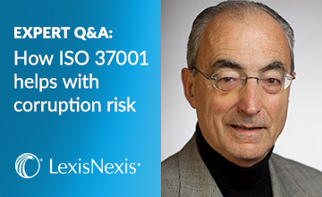 Exclusive Interview ISO 37001, Compliance Q&A, anti-bribery, corruption effortsefforts
